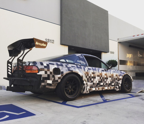 Nissan 240sx S13 Rb Style Fender Flares V1 Forcewerkz
