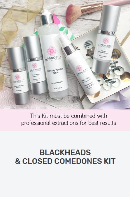 Blackheads & Closed Comedones Kit