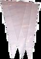 Reusable Plastic Cones (Carrot Bag)