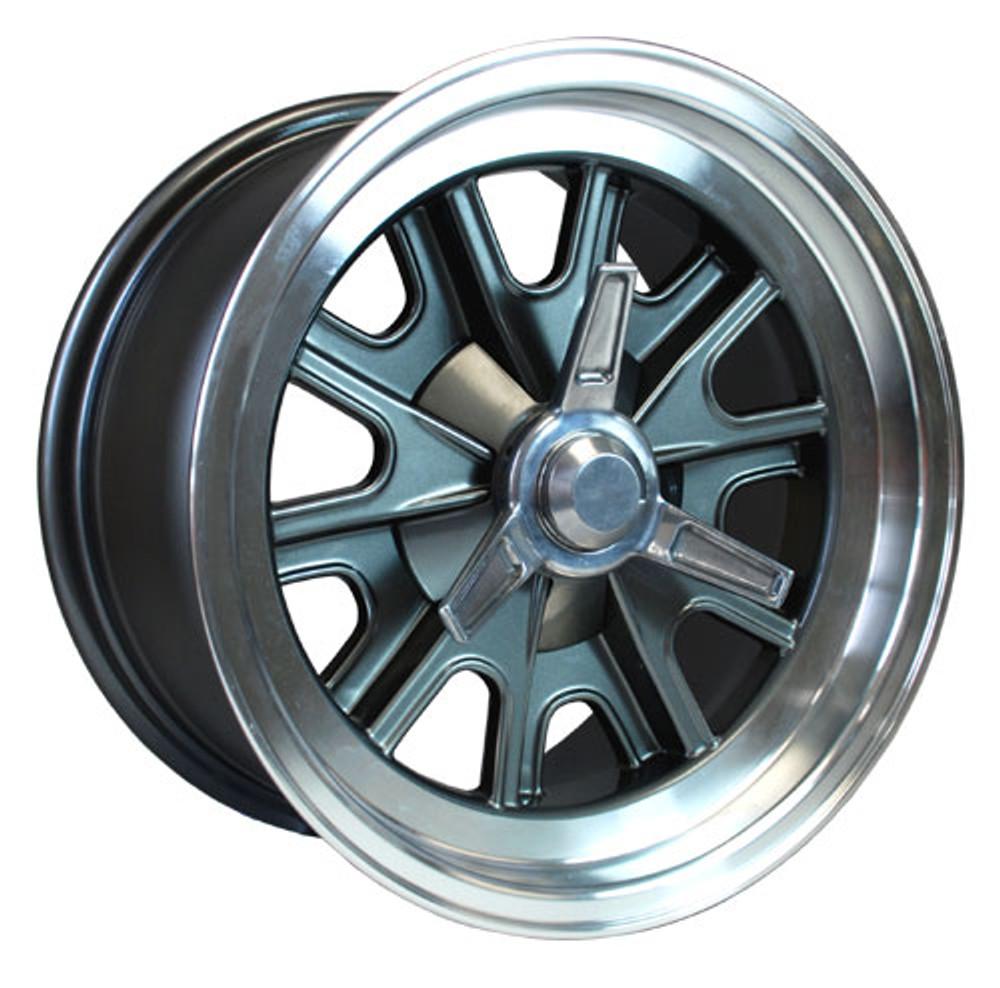 """Factory 5 Gtm >> #14867 - 15"""" Vintage Halibrand Replica Wheels - Factory ..."""