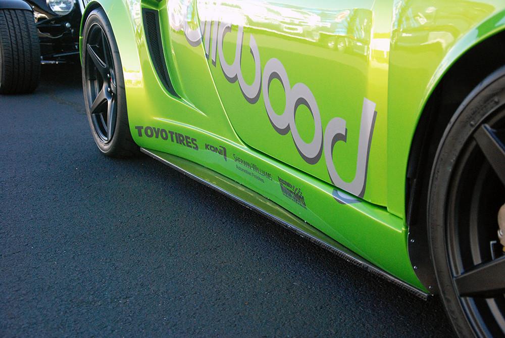 #81157 - 818 Carbon Fiber Rocker Extensions