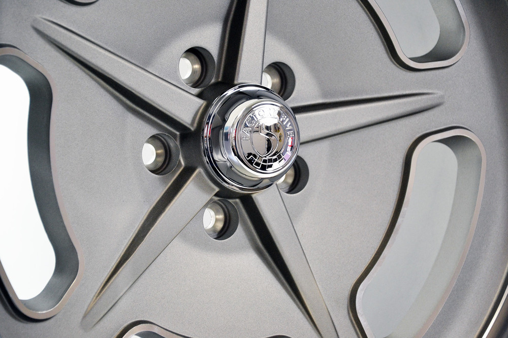 """18"""" and 20"""" '33 Bonneville Style Wheels - Gray"""