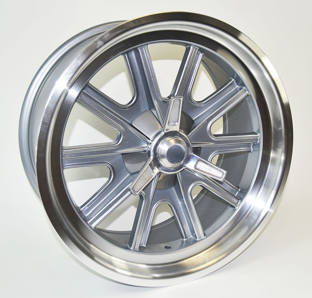 "18"" x 9"" Halibrand Replica Wheel"