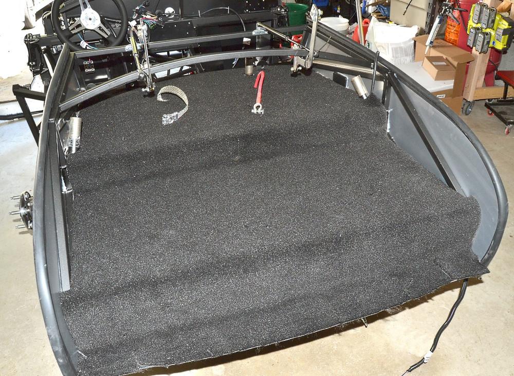 #16672 - Roadster Trunk Carpet