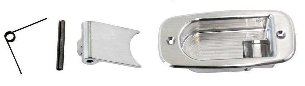 #16143 - Brushed Aluminum Interior Handle