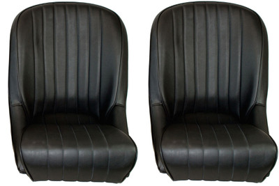 #16325 - Black Vinyl Roadster Seats