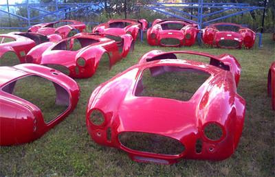 #15098 - Mk4 Roadster Main Body Shell