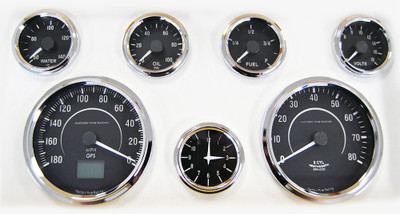 #16007 - Factory Five Vintage Gauge Set w/GPS Speedometer