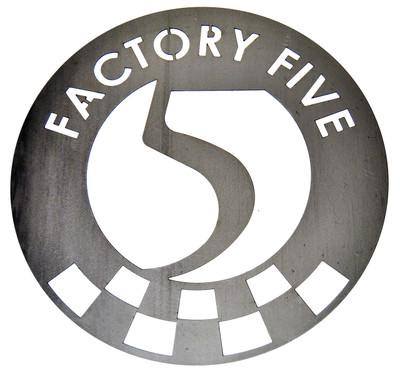 """#16372 - 15"""" Factory Five Steel Garage Sign"""