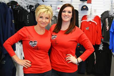 #16538 - Red Long Sleeve Women's Shirt