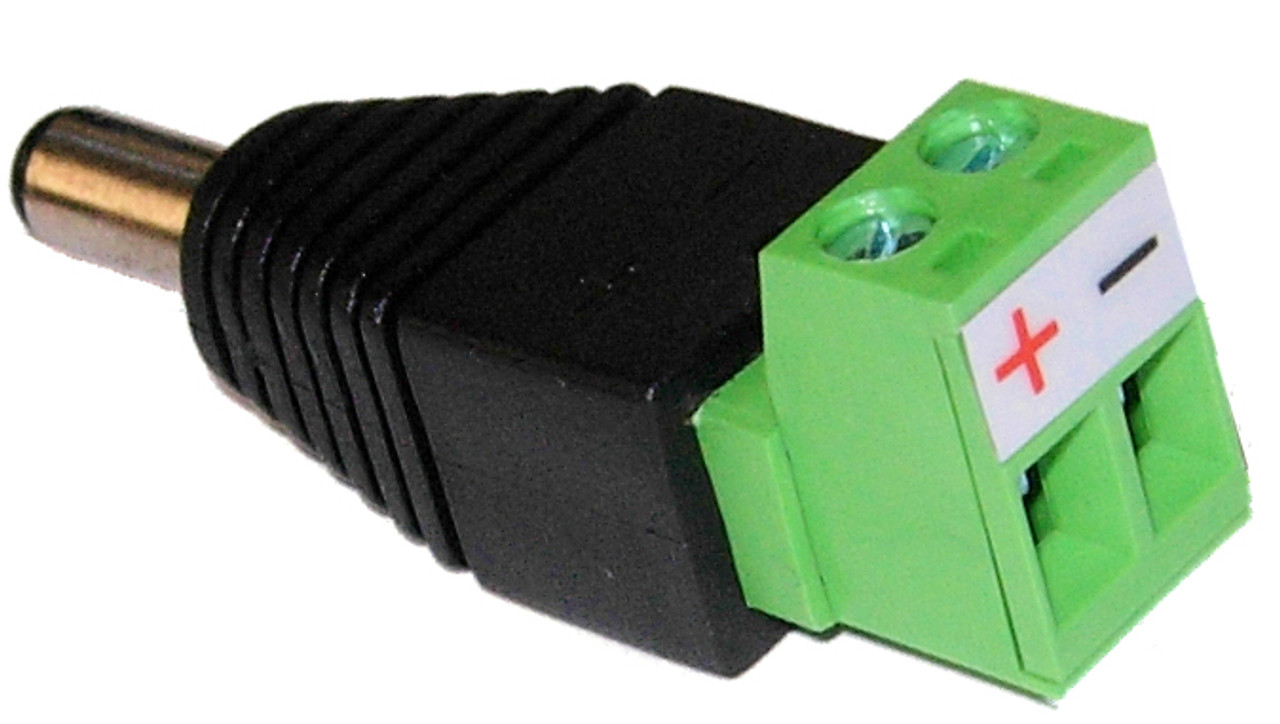 Quick Power connector Male DC