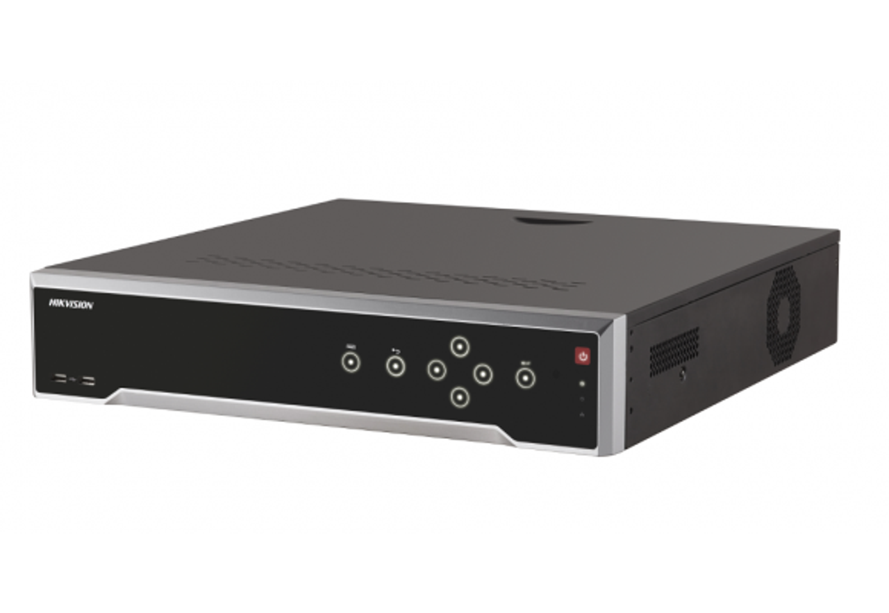Hikvision DS-7716NI-I4/16P 16ch NVR Built In 16 Port POE Switch 160M Inbound bandwidth, Up to 12MP resolution recording