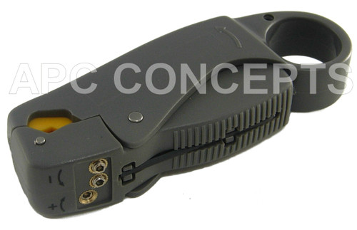 Rotary Stripping Tool For RG59/58 CCTV Cable Inc Blade Adjustment Tool
