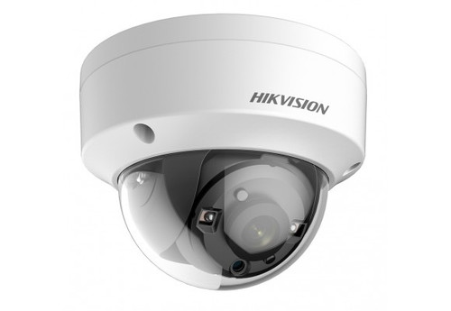 HIKVision Turbo HD 2MP Fixed Lens 2.8mm Lens Low Light POC EXIR Dome CCTV Camera DS-2CE56D8T-VPITE-2.8MM