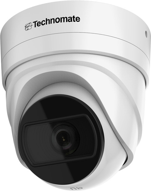 Technomate TM-803 E MOT IP 8MP 2.8mm-12mm Motorized Lens IP Network IR Dome Camera IP67 IK10 Rated