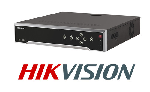 Hikvision DS-7732NI-K4/16P Plug & Play 4K NVR 256Mbps Bandwith Model Hikvision 32ch NVR Built In 16 Port Built In POE Switch