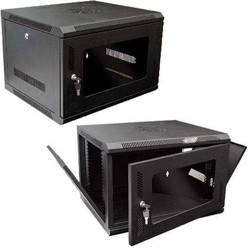 Data Wall Cabinet 6U 600mm W x 450mm D x 370mm H