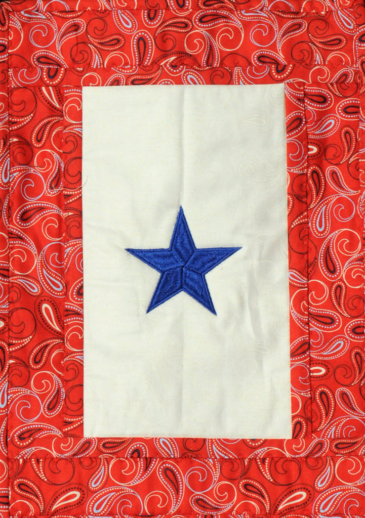 "The Old Glory ""Blue Star Service Banner"" is part of the Old Glory CD!"