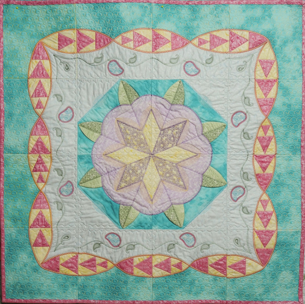 Border files also make this beautiful quilt.