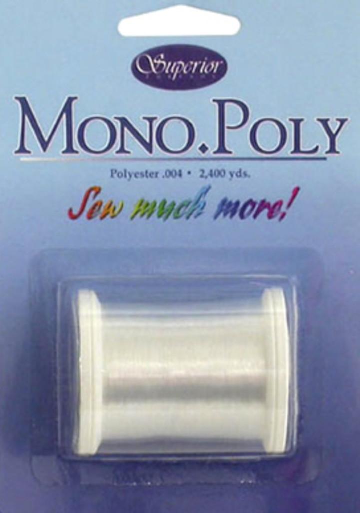 Clear Mono.Poly Thread