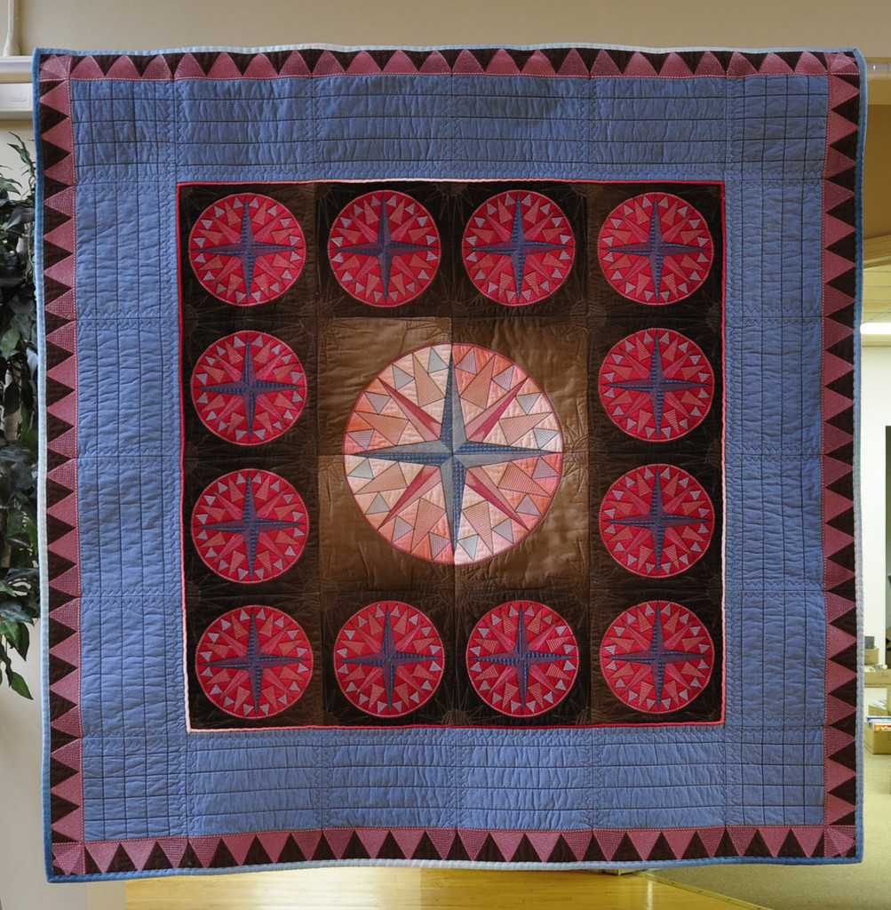 GPS Quilt Front