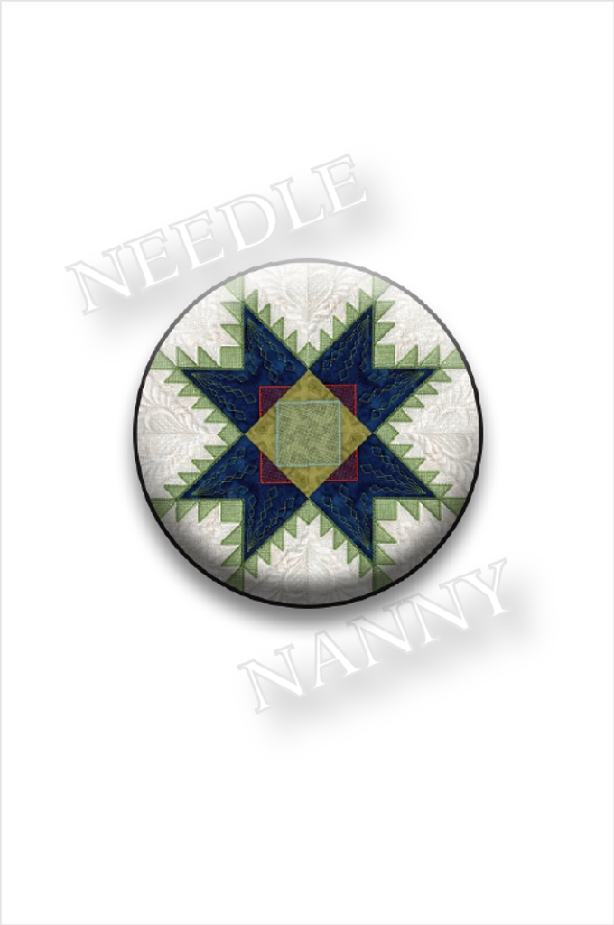 Feathered Star Needle Nanny