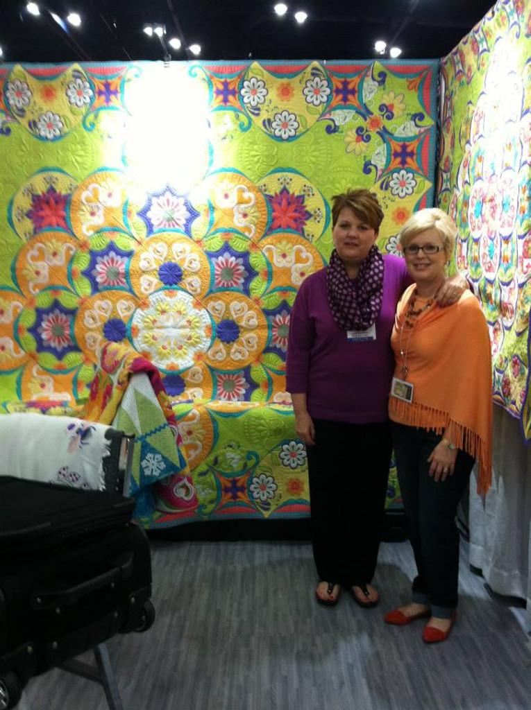 Lynda Remmers & Annie Moody showcasing their beautiful work!