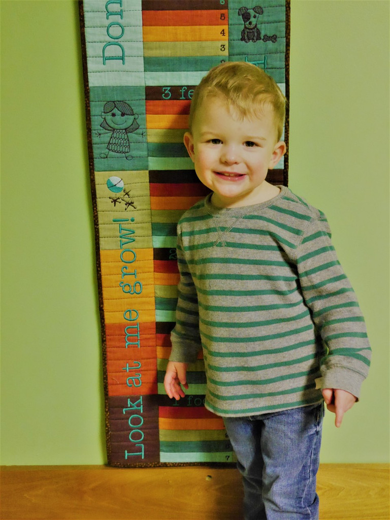 May Growth Chart - Digital Download