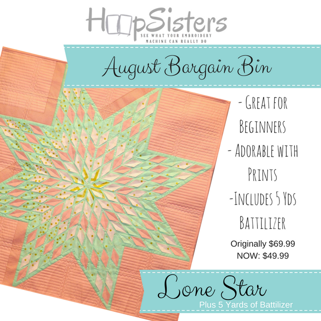 August Bargain Bin SALE: Lone Star