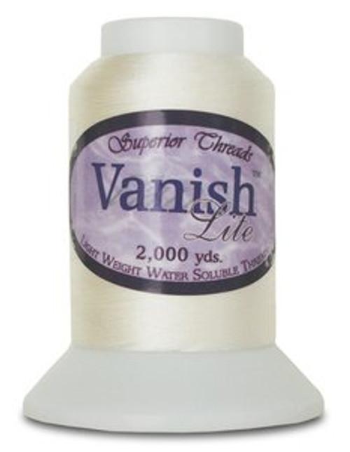 Vanish-Lite Water Soluble Thread 2,000 Yds.