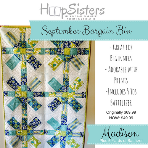 September Bargain Bin: Madison