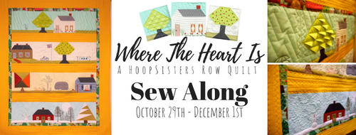 Where The Heart Is Sew Along Bundle