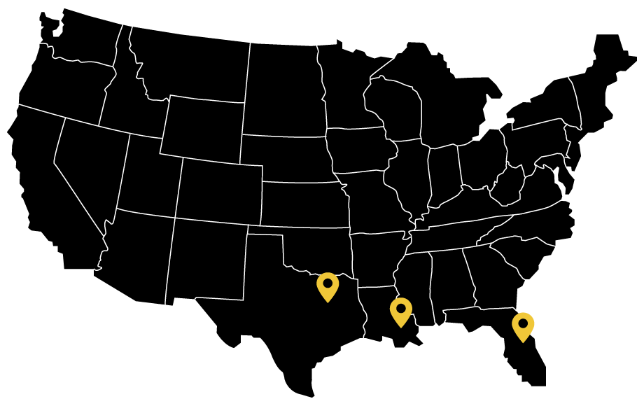3S Locations in United States