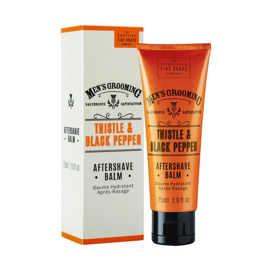 Mens Thistle and Black Pepper After Shave Balm