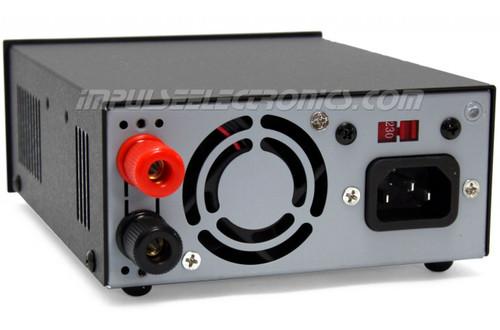 Powerwerx Variable 30 Amp Desktop Power Supply with Digital Meters