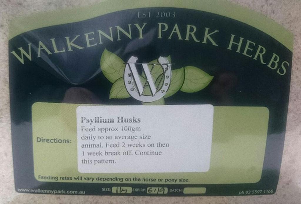 Walkenny Park Herbs - Psyllium Husks 1kg