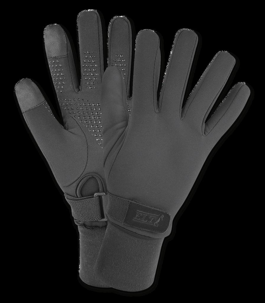 CLEARANCE: ELT Winter Snow Riding Gloves (Black)