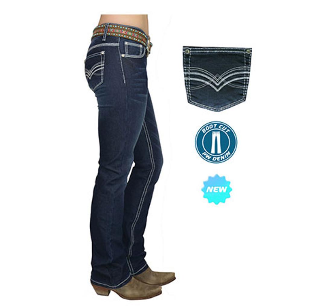 Pure Western 'Hannah' Womens Boot Cut Jeans