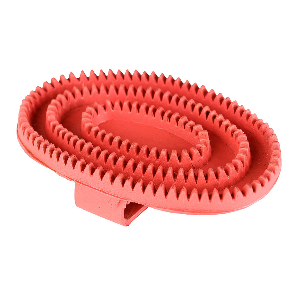 Basic Rubber Curry Comb - Large