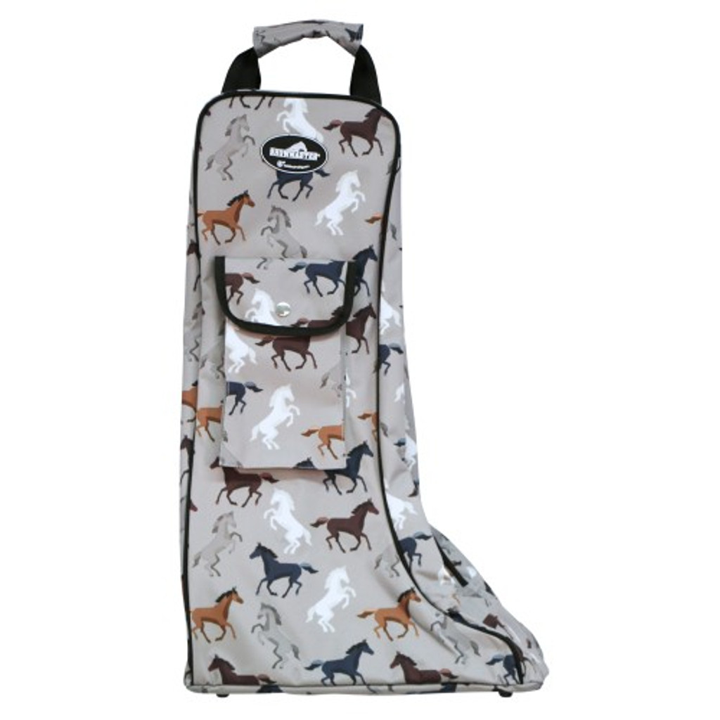 Showmaster Top Boot Carry Bag (Horse Print)