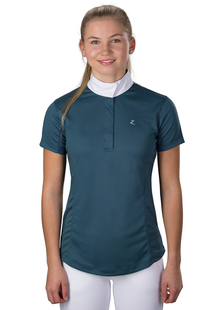 Horze Blaire Womens Short-Sleeve Functional Show Shirt