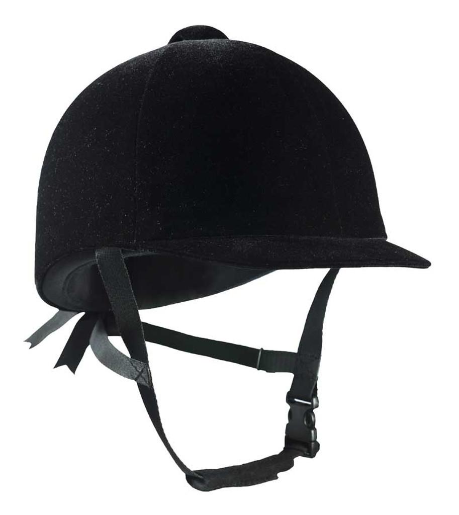 Horze Velvet Show Riding Helmet