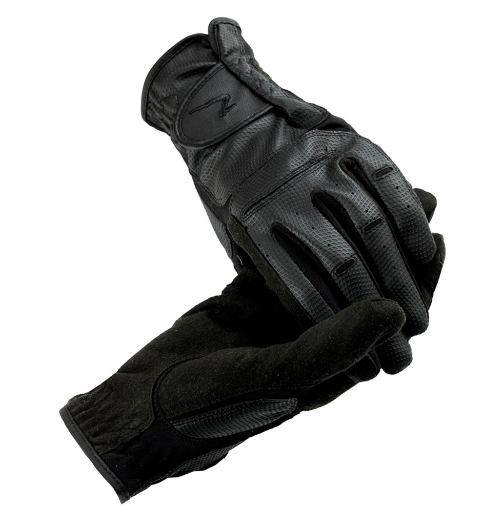 Horze Synthetic Leather Riding Gloves