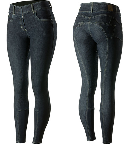 Horze Victoria Denim Ladies Riding Breeches