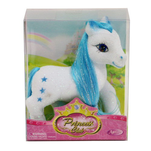 """Princess Club Flocked Pony 5"""""""