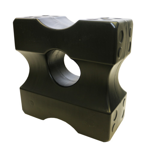 ShowMaster Plastic Jump Blocks - Set of 4 (Black)