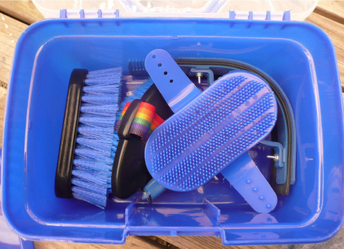 Eureka Grooming Box 8 Piece (Blue)
