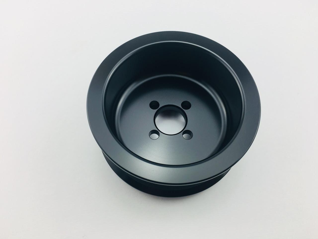"""3.125"""" 10 Rib Whipple L3 Black (COPO)"""