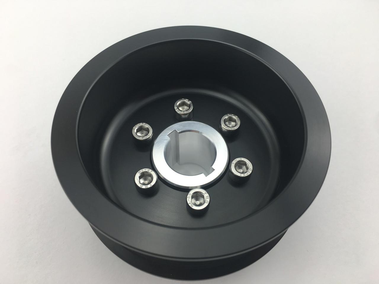 """3.70"""" 2pc 12 Rib """"Standard""""  Black L3 Kit Hub Included"""