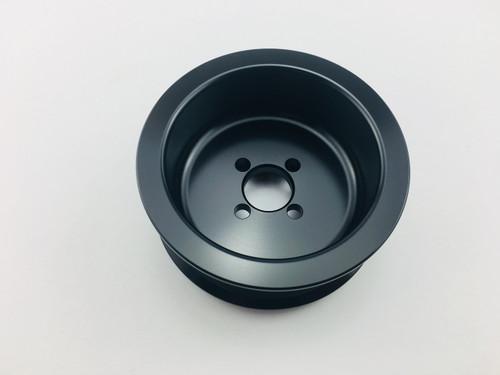 """3.50"""" 8 Rib C7 Offset Whipple 2.9L GripTec® L3 Black"""